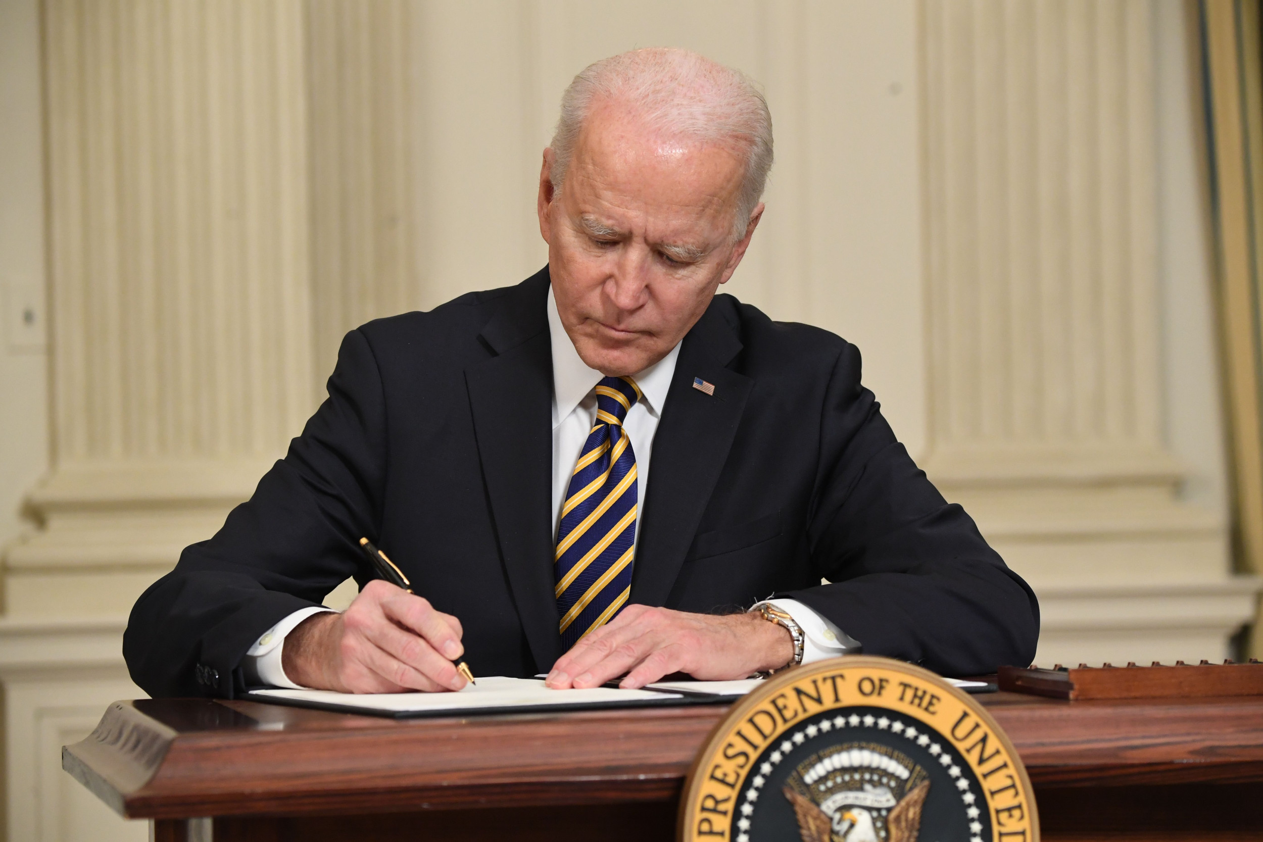 Oklahoma House passed bill to let state declare Biden executive orders unconstitutional