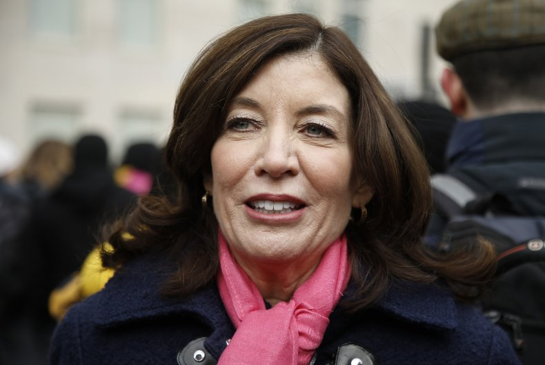 New York Lt. Governor Kathy Hochul