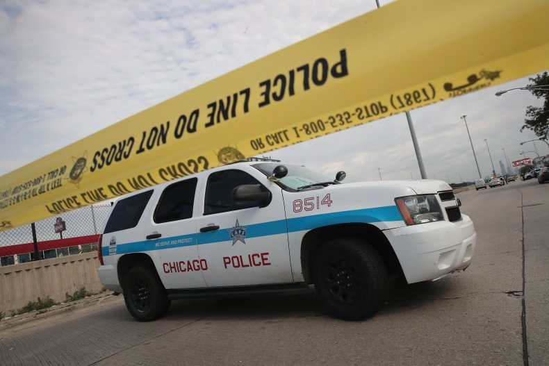 Chicago police car 2017