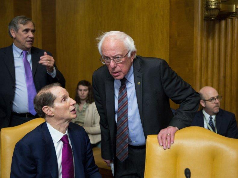 Ron Wyden and Bernie Sanders