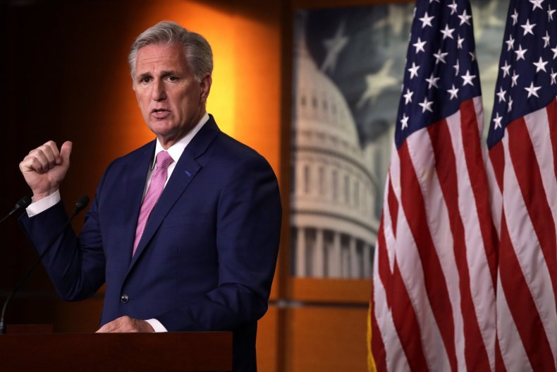 Kevin McCarthy Dr. Seuss Voting Rights Democrats