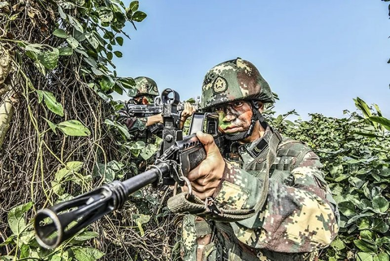china, rocket, army, training, southern, theater