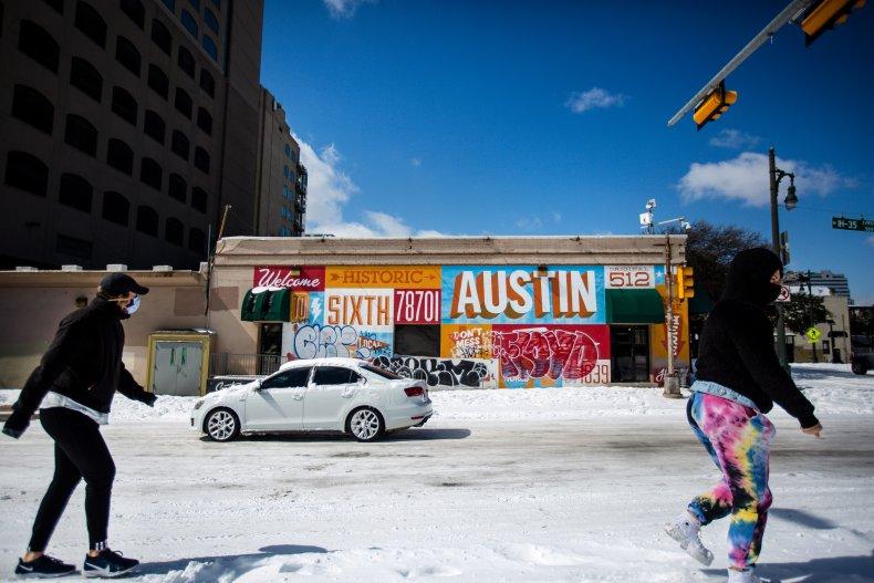 Austin Texas February 2021
