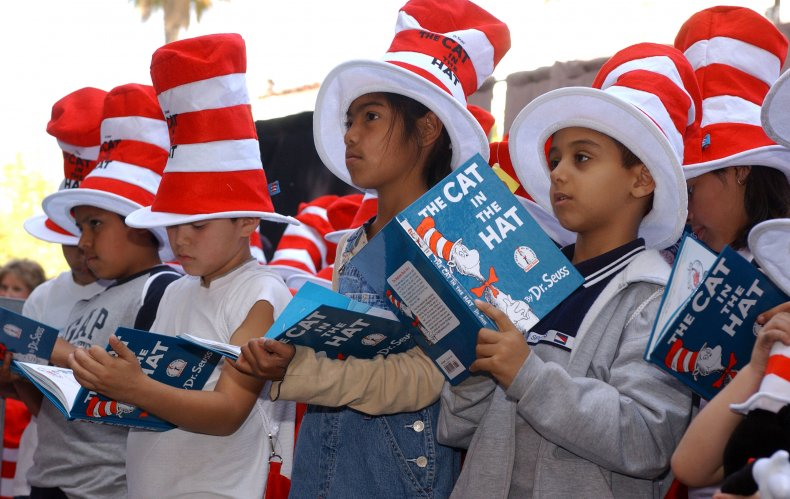 """Children Read """"The Cat in the Hat"""""""