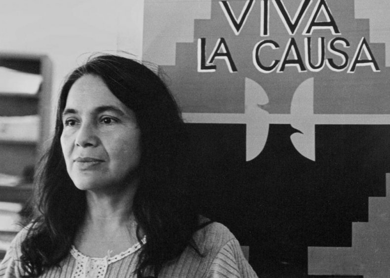 1965: Dolores Huerta directs a five-year strike