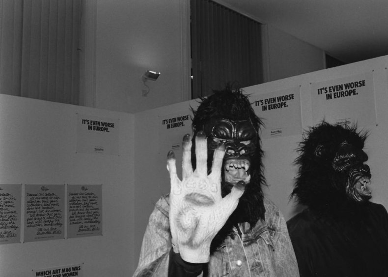 1985: Guerilla Girls forms