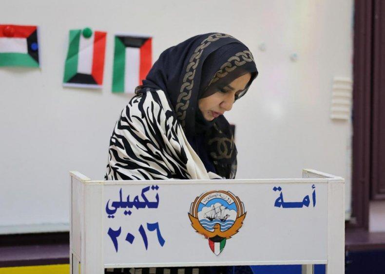 2005: Kuwait's Blue Revolution secures women's suffrage
