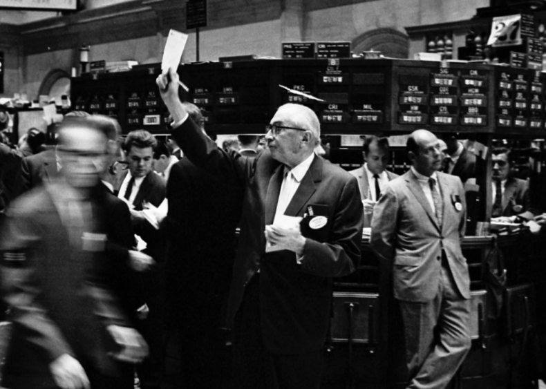 Stock market history from the year you were born