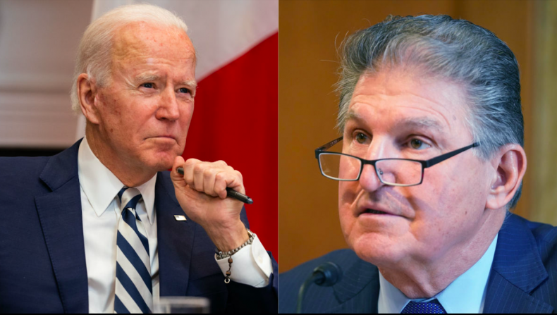 Joe Biden and Joe Manchin