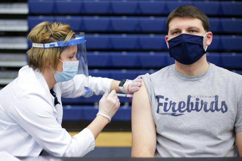 Ohio COVID-19 vaccination February 2021