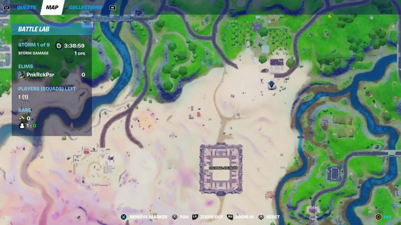 fortnite restaurant kitchen locations 2 map
