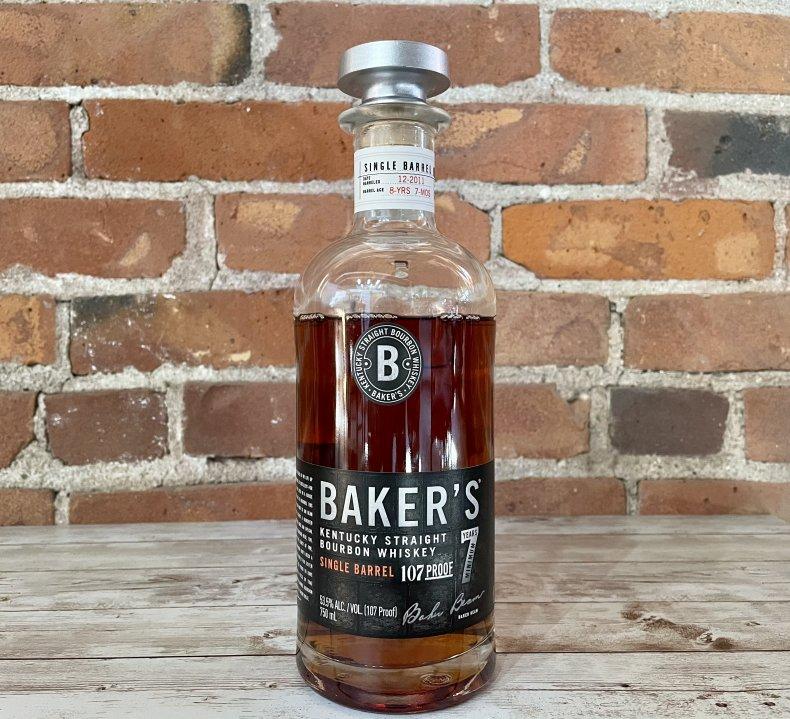 Liquor Spirits Bar Essentials Baker's Single Barrel