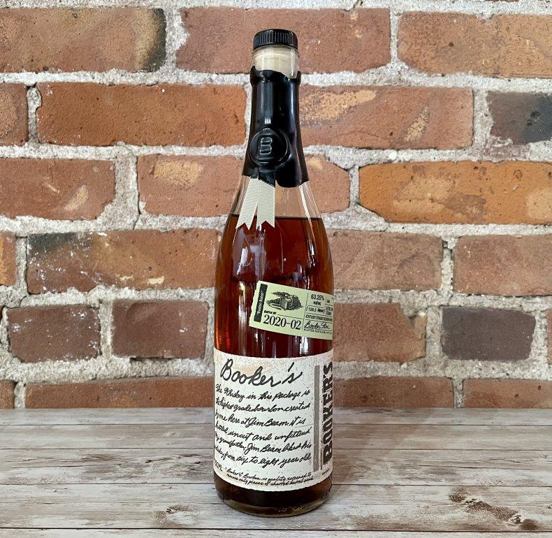 Liquor Spirits Bar Essentials Booker's Bourbon Boston