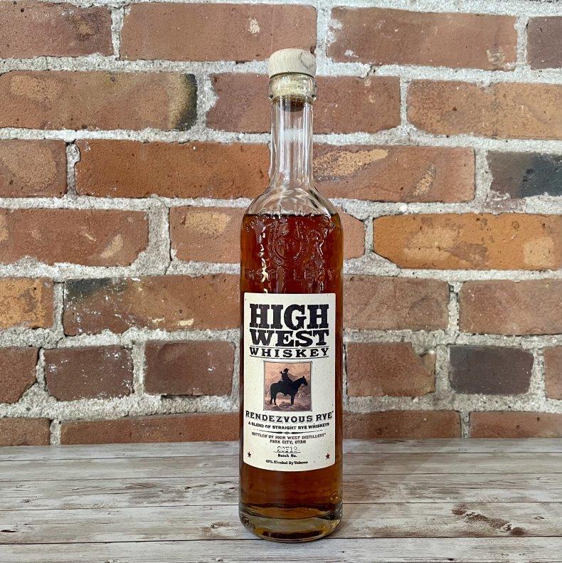 Liquor Spirits Bar Essentials High West Rendezvous