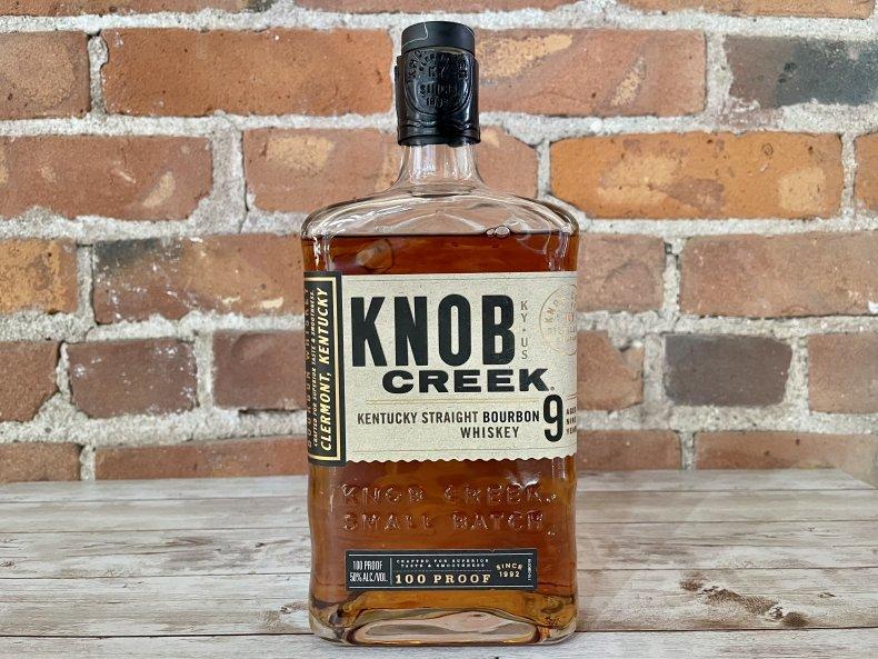 Liquor Spirits Bar Essentials Knob Creek Bourbon