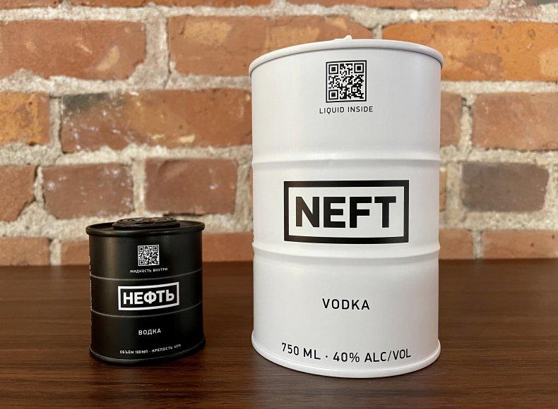 Liquor Spirits Bar Essentials  Neft Vodka