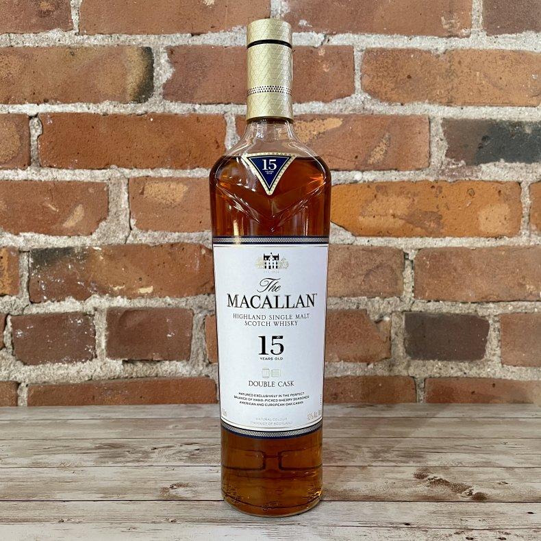 Liquor Bar Essentials The Macallan 15 DoubleCask