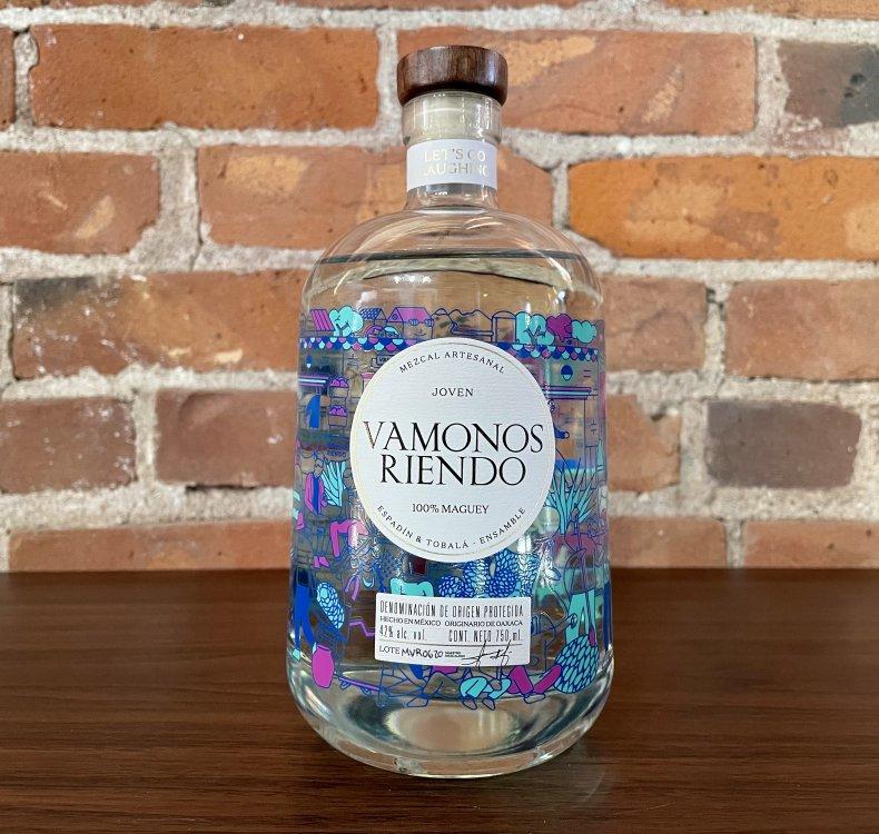 Liquor Spirits Bar Essentials Vamonos Riendo Mezcal