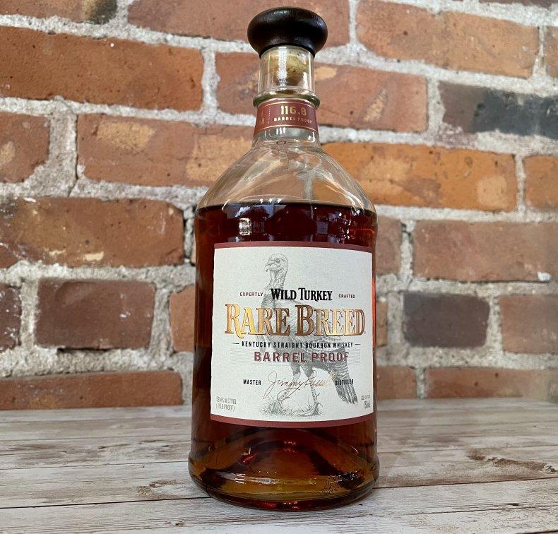 Liquor Spirits Bar Essentials Wild Turkey RareBreed