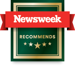 Newsweek recommends badge