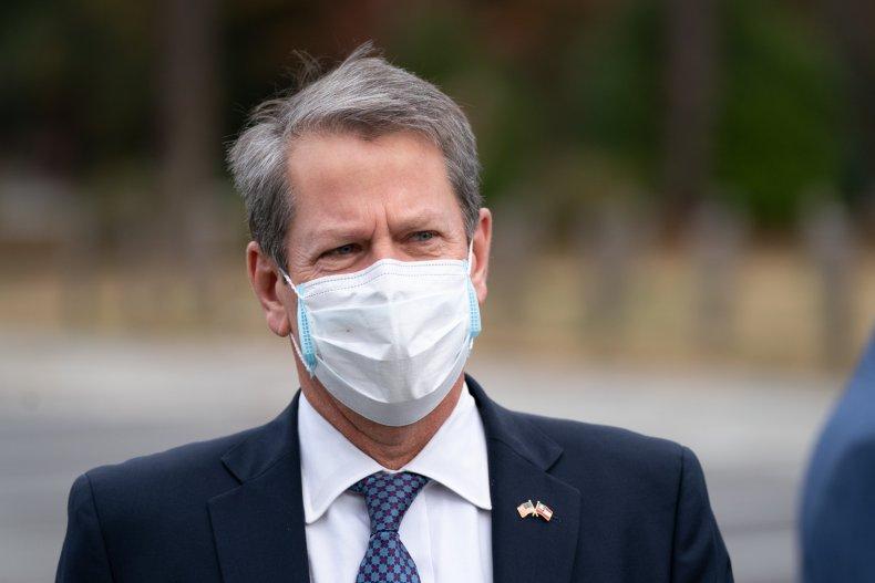 Governor Brian Kemp, Georgia, Donald Trump