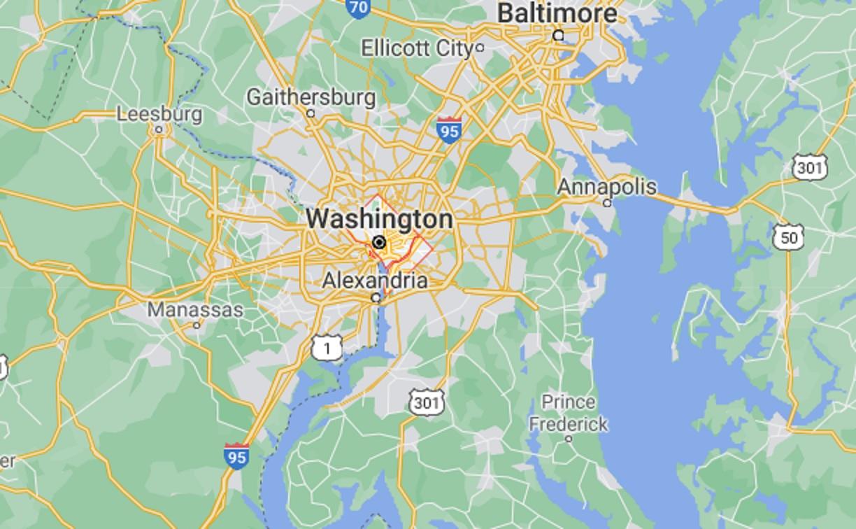 QAnon Followers Fixate on 'D.C.' Missing From Washington Maps - Newsweek