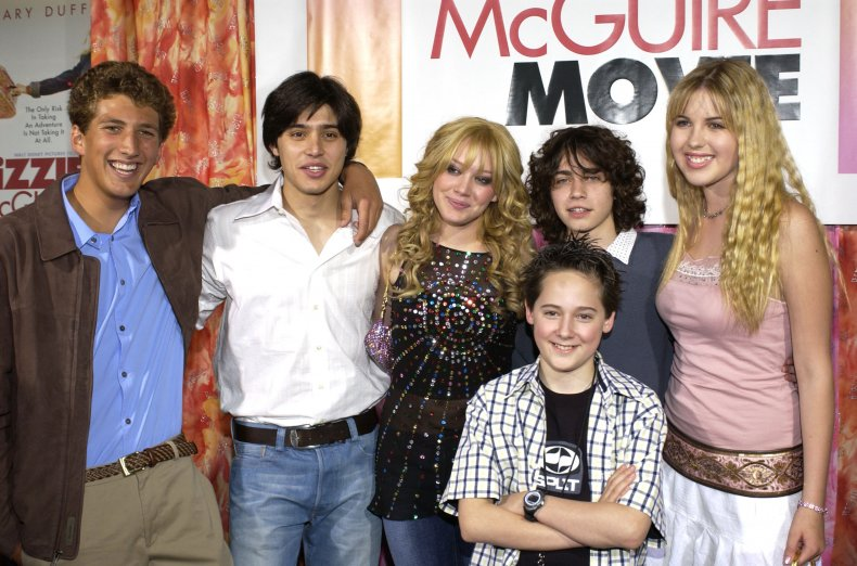 The Lizzie McGuire Movie cast