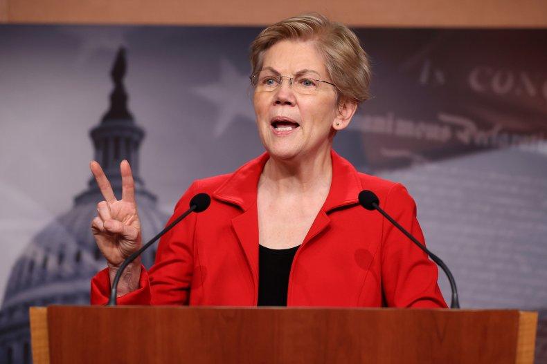 Elizabeth Warren U.S. Capitol March 2021