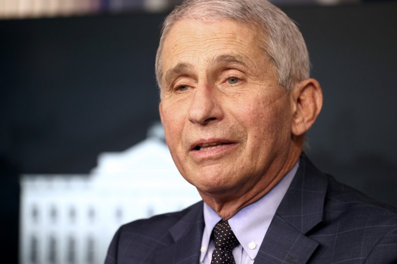 Dr Anthony Fauci speaking