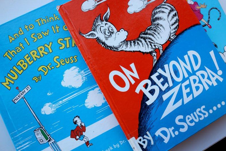Dr. Seuss Books Mulberry Street Beyond Zebra