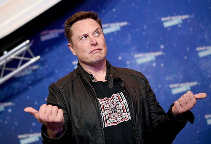 Elon Musk Tops 2021 Rich List