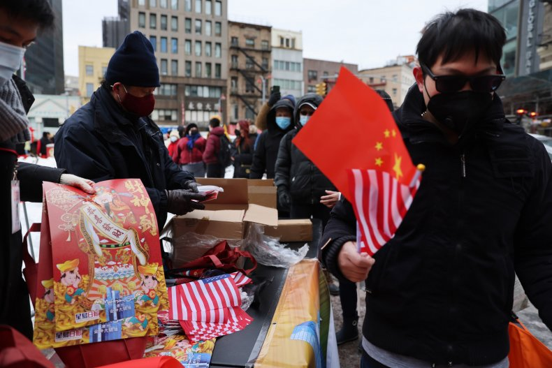 us, china, flags, lunar, new, year