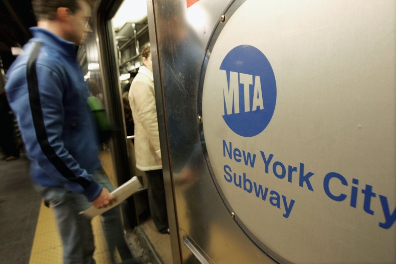 NYC subway attack video Asian-American hate crime