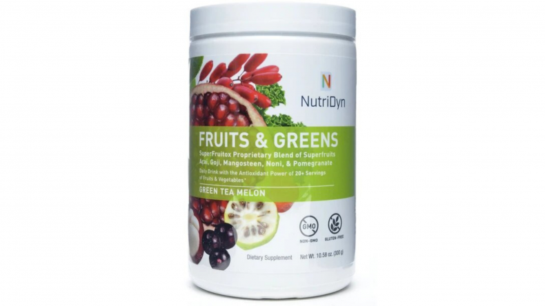 bluesky vitamin nutri-dyn fruit and greens