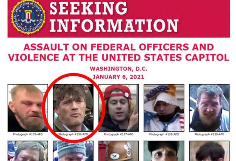 FBI Seeking Information Poster featuring Federico Klein
