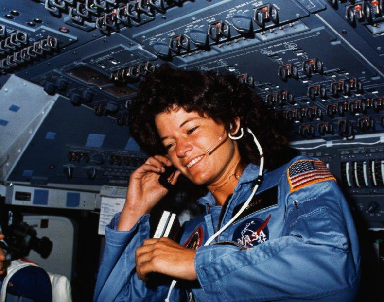 sally ride astronaut, nasa