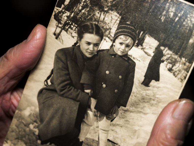 Post-war family photograph