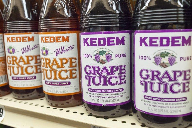 Grape juice New York shop 2016