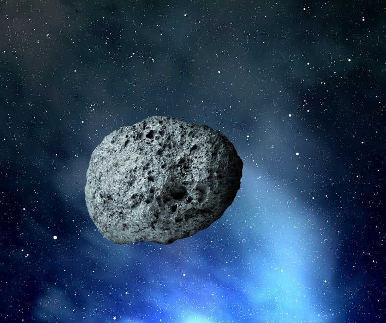 Stock image of an asteroid
