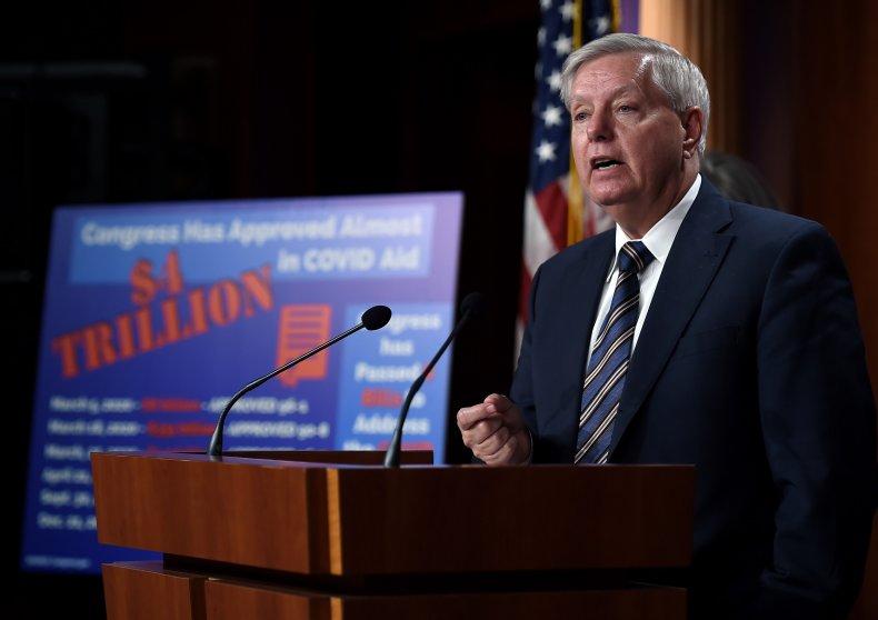 Lindsey Graham Senate covid negotiations