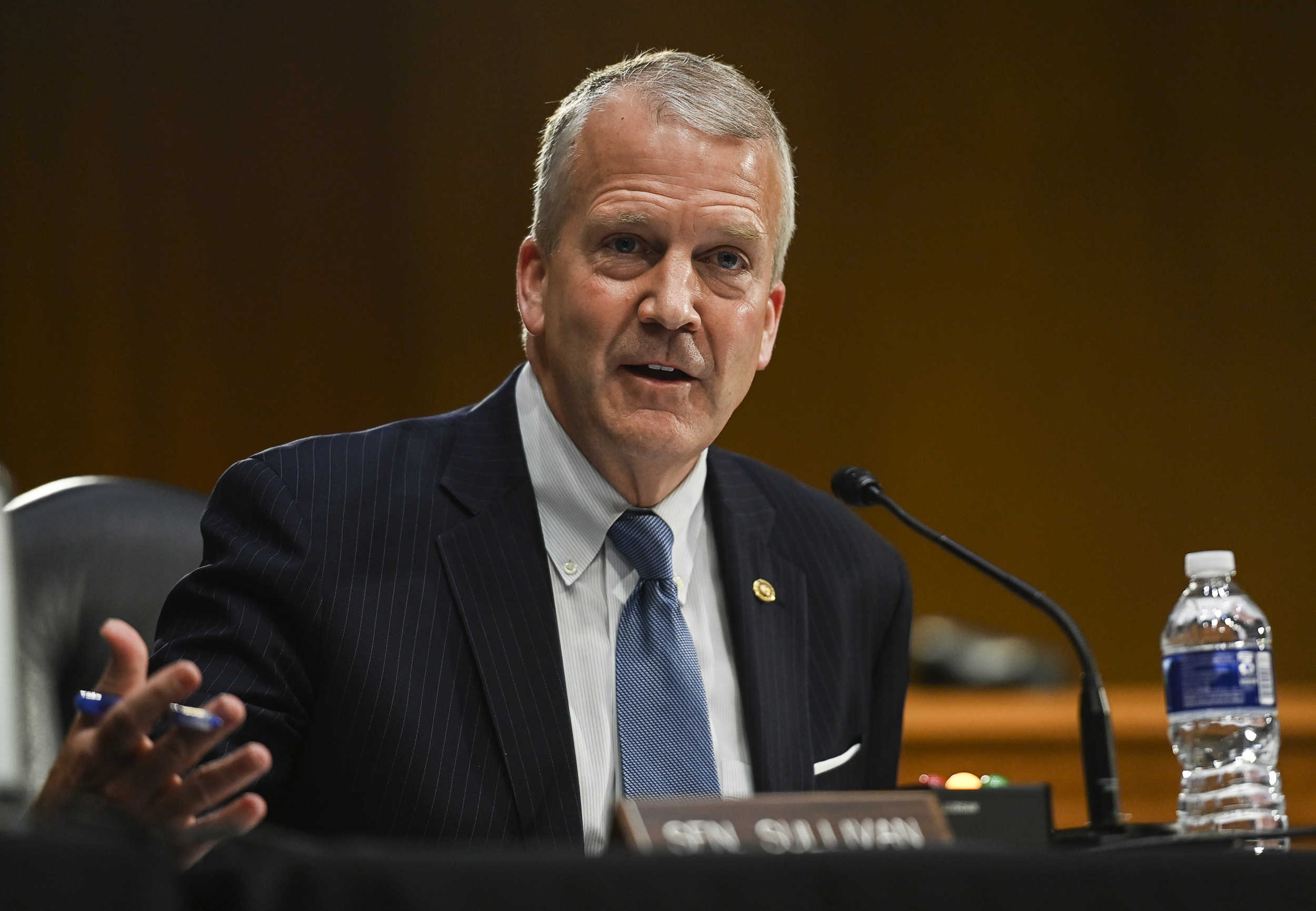 Senate GOP Down One for Stimulus'Vote-a-Rama' as Dan Sullivan Returns Home for Funeral thumbnail