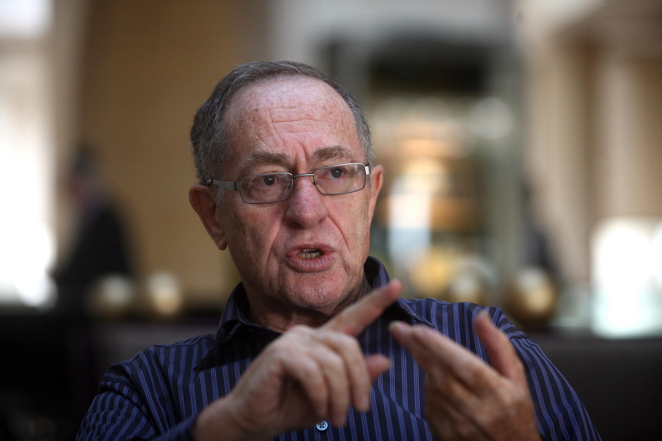 "Eric Swalwell's lawsuit against Trump has ""mind-boggling"" implications, says Alan Dershowitz"