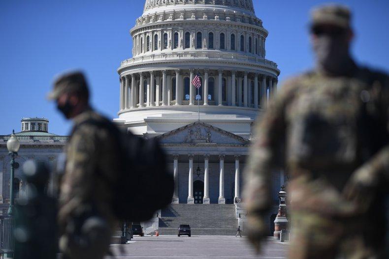 Capitol riot stock photo