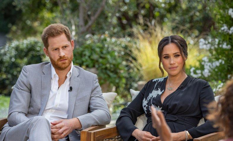 Prince Harry, Meghan Markle's Oprah Winfrey Interview