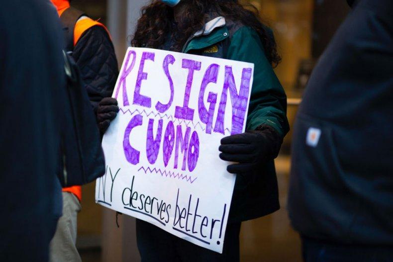 Andrew Cuomo resign