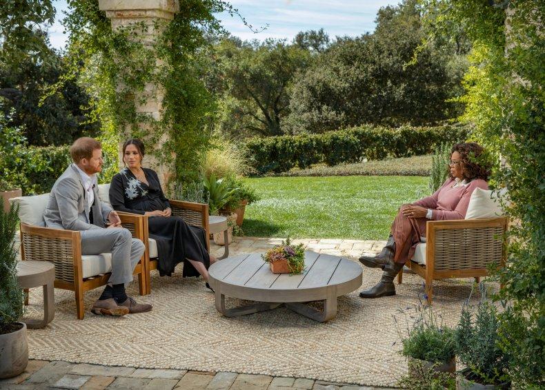 Oprah Winfrey Prince Harry Meghan Markle