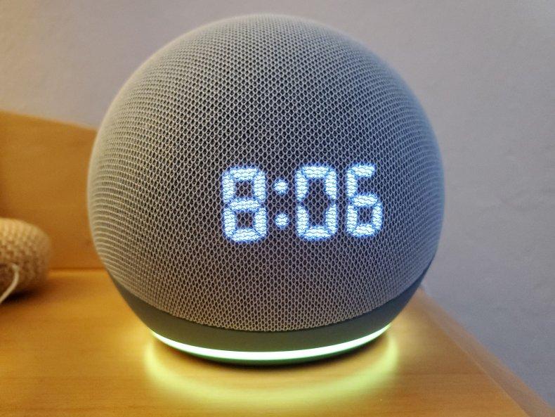 Amazon Echo smart speaker Alexa January 2021
