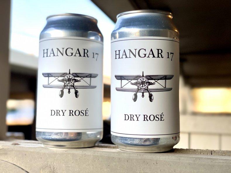 Canned Wine Hangar 17