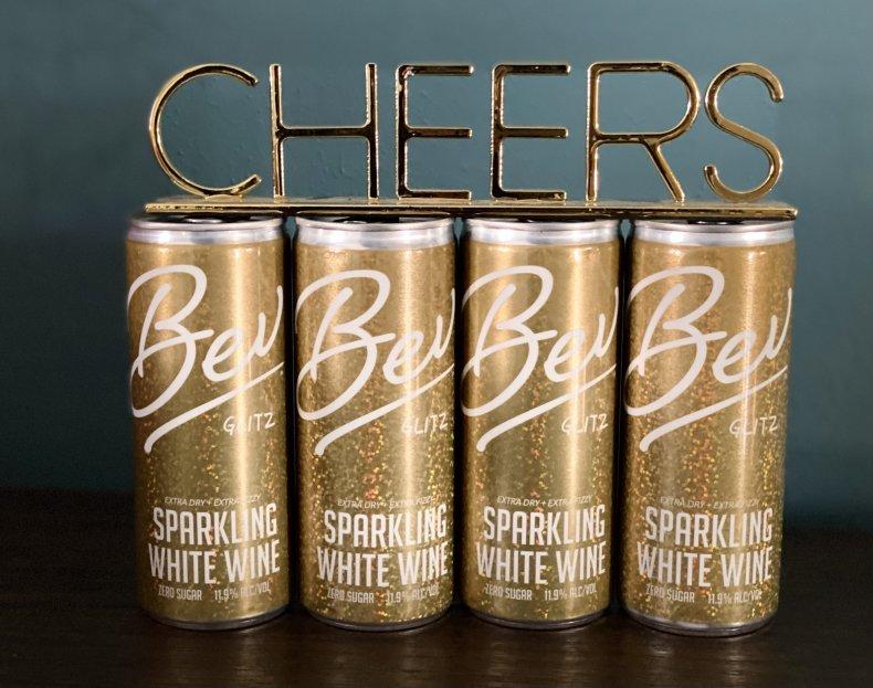 Canned Wine Bev Glitz