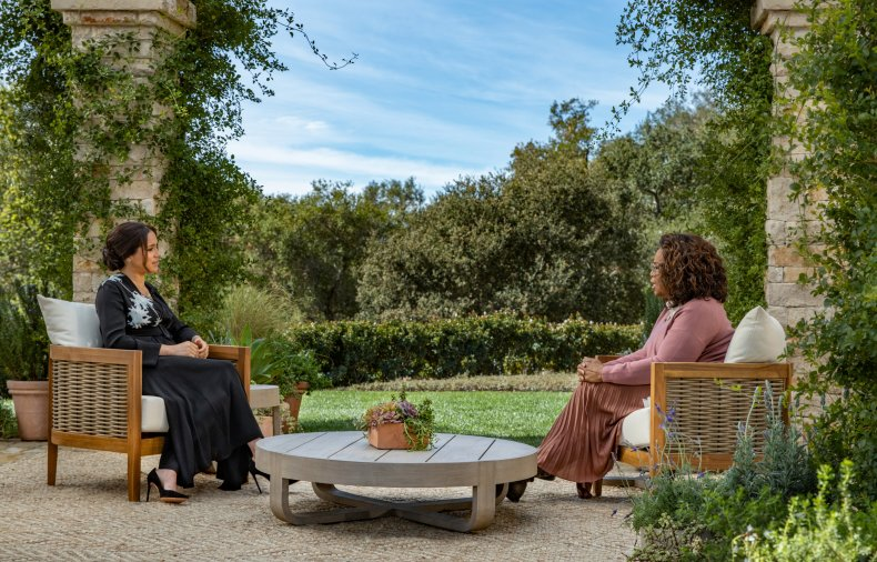 Oprah interview Meghan Markle